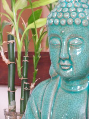 aqua statue