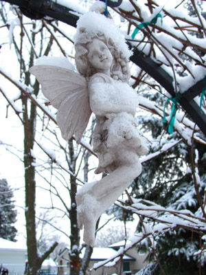winter angel